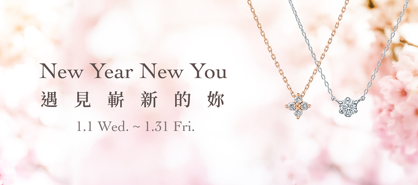 NEW YEAR NEW YOU 遇見嶄新的妳